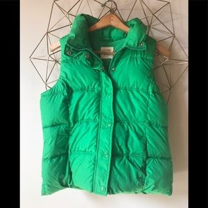 Old navy m vest green